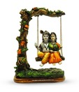 Earth Home Decor Radha Krishna On Swing