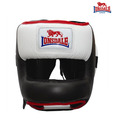 Lonsdale Face Saver Leather Head Guard