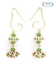 Vendee Fashions Designer Stone Earrings