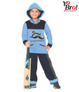 Yobro Blue & Navy Night Suit For Kids