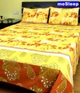meSleep Paisley & Floral Double Bed Sheet
