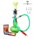 Hooked On Hookah Crystal Light Green Hookah
