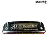 Hohner Harmonica M542086 Golden Melody /Key G