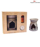 Fragrance World India Lavender Aromatherapy Soapstone Oil Burner