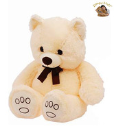 Dimpy Stuff Tender Cream Teddy Bear Soft Toy-75 cm