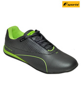 F Sports Vigorous Grey & Green Sports Shoes