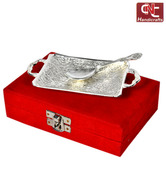Craft N Craft Pretty Brass Tray Set