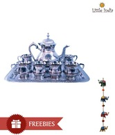 Little India Royal Tea Set With Free Wall Hanging - 8 Pcs