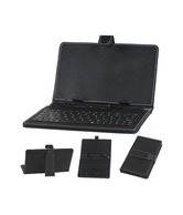 Callmate Keybord Leather Case for All 7 inches Tablet Black