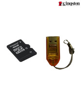 Kingston 4Gb Micro SD Card (Class 4) + Free Micro SD Card Reader