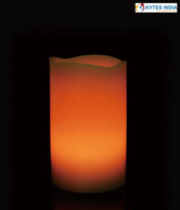Kytes India LED Amber Candle