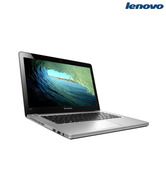 Lenovo Ideapad U410 (59-342788) Ultrabook (3rd Gen Ci7/ 4GB/ 500GB + 24GB SSD/ Win7 HB/ 1GB Graph)(Metallic Grey)