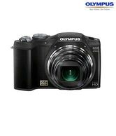 Olympus SZ-31MR 16MP Point & Shoot Digital Camera (Black)