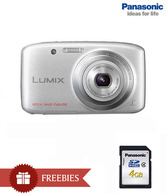 Panasonic Lumix DMC-S5 16.1 MP Point & Shoot Digital Camera (Silver)