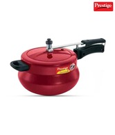 Prestige Nakshatra Plus 3 Ltr Red Pressure Handi