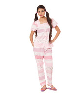 Fort Collins Pink Cotton Nightsuit Set
