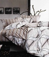 Story@Home Isabelline Contemporary Double Bed Sheet & 2 Pillow Covers