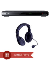 Sony SR660 DVD Player With Verve Hs100 Headphone