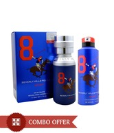 Beverly Hills Polo Club Combo of Perfume & Deodorant No 8 Men 50ml & 175ml