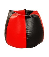 Big-Fat-Boy XL Black & Red Bean Bag
