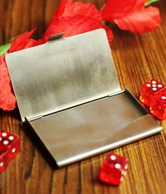 Loveusale Steel Visiting Card Holder