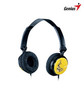 Genius HS-410F Headset with Mic (Yellow)