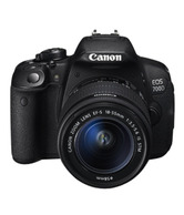 Canon EOS 700D SLR Kit II (EF S 18-135mm IS STM Lens) (Black)
