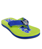 Tom and Jerry Smart Blue & Light Green Flip Flops