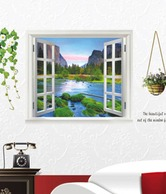 Vedi Toys Multi-coloured Nature Themed Wall Decal