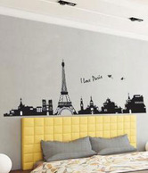 Vedi Toys Paris Themed Wall Decal