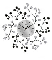 Ajanta Floral Design Wall Clock