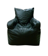 Biggie Black Bean Bag Armchair