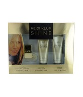 Heidi Klum Shine Set (Eau de Toilette Spray and Body Lotion and Shower Gel) (Imported)