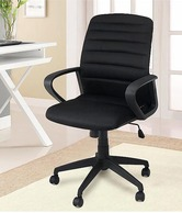 FabFurnish Soho Egon Office Chair  Black