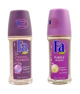 Fa Set of two (Mystic Moment, Purple Passion)- Roll On 50ml