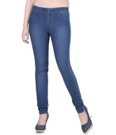 Channel F Denim Dark Blue Slim Fit Jeans