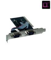 LT  Pci to 2 Serial card