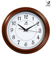 JAZ Modern Teak Touch Wall Clock