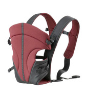 BeCute Maroon 2 In 1 Baby Carrier