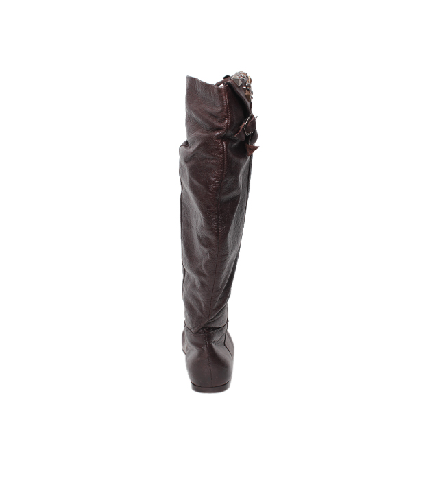 Massimo Italiano Dark Brown Knee Length Boots