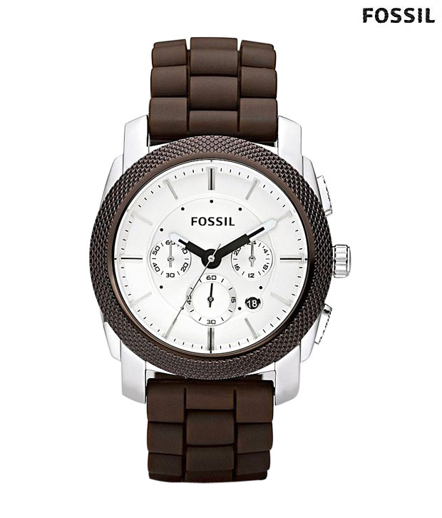 Fossil Classic Brown Strap Designer Watch