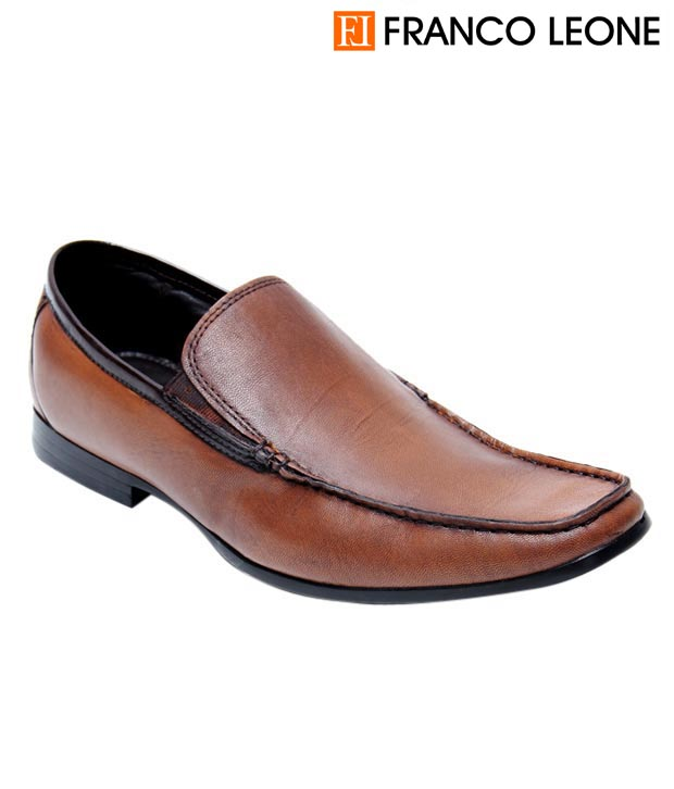 Franco Formal Brown Slip On (9437-Brown)