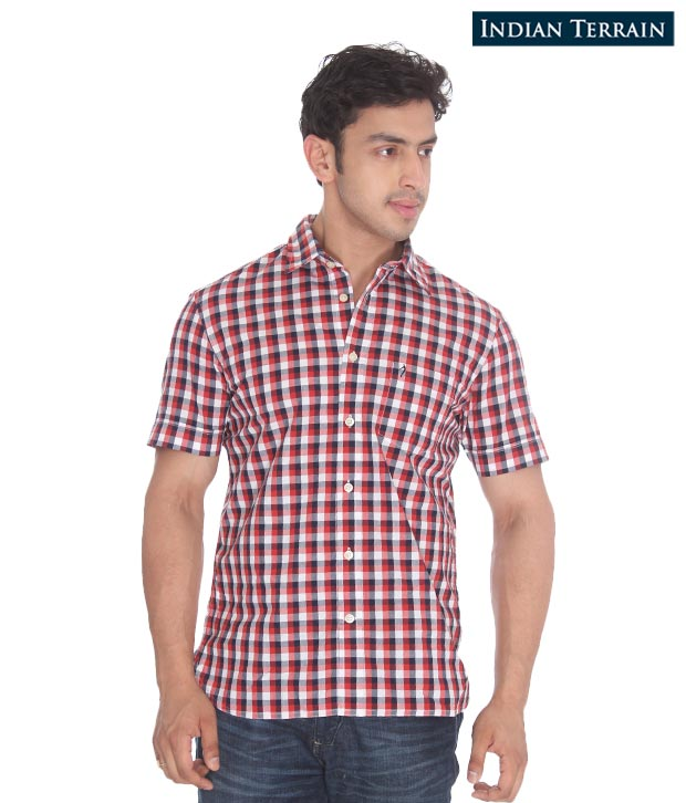 Indian Terrain Red Shirt