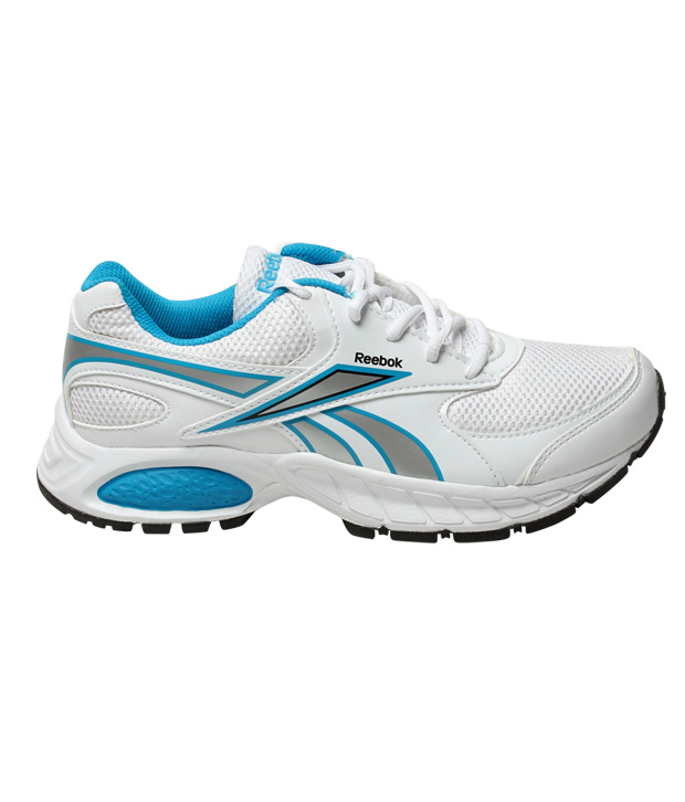 Reebok Limo White & Blue Running Shoes