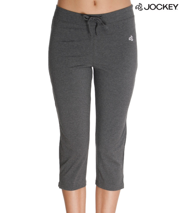 Jockey Smart Charcoal Capri