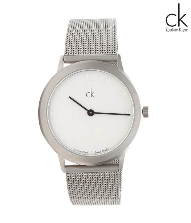 CK Stylish Steel Men Watch
