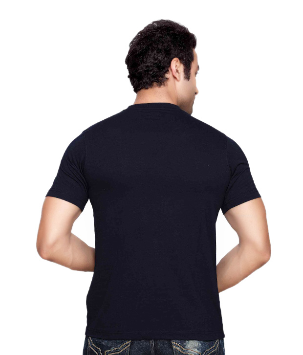 Mark Taylor Navy Blue T- Shirt
