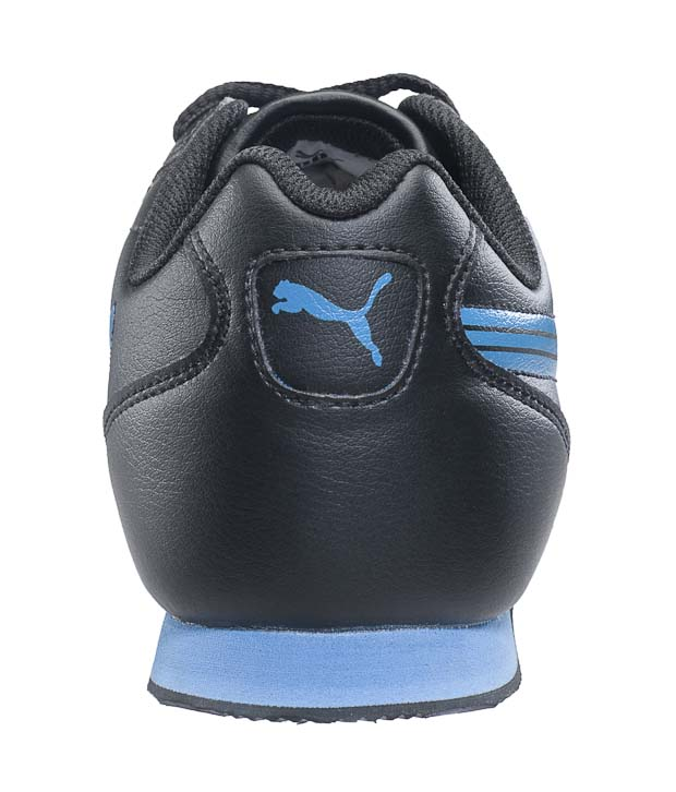 Puma Wirko Wn's IND Black & Blue Sports Shoes