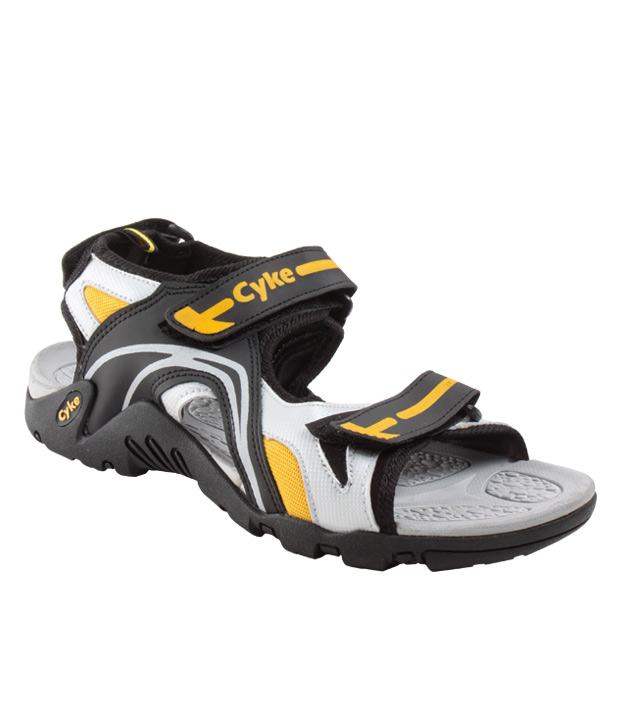 Cyke Fit Grey & Yellow Floaters