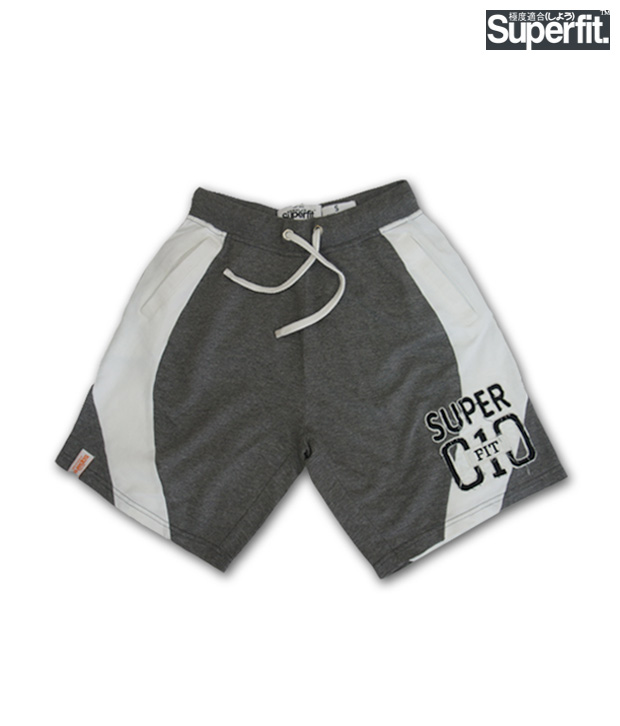 Superfit Dark Grey Shorts